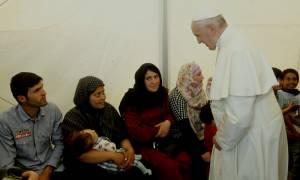 Ιταλία: Ξεκίνησαν τα… Ιταλικά οι Σύριοι πρόσφυγες που πήρε από τη Λέσβο ο πάπας Φραγκίσκος