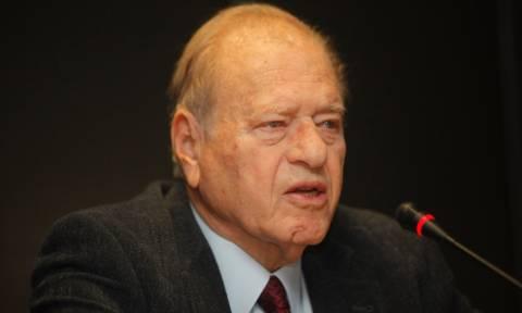 Πέθανε ο πρώην υπουργός του ΠΑΣΟΚ, Γεράσιμος Αρσένης