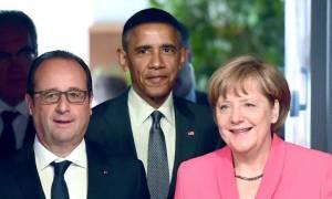 Έκτακτη συνάντηση κορυφής με Ομπάμα, Ολάντ, Μέρκελ, Κάμερον και Ρέντσι