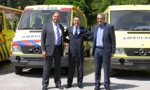 Προσφυγικό: 18 κινητές ιατρικές μονάδες από την Ολλανδία στο ΕΚΕΠΥ