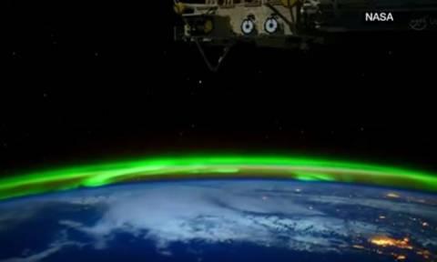 Μοναδικό βίντεο της NASA καταγράφει το Βόρειο Σέλας από το διάστημα!