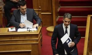 Τσίπρας - Μητσοτάκης μετέφεραν την αντιπαράθεση της Βουλής… στο twitter! (photo)