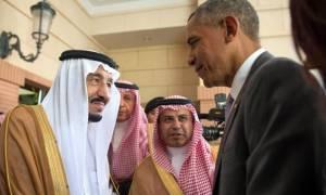 Σαουδική Αραβία: Ο Ομπάμα και ο βασιλιάς Σαλμάν συζητούν για τον πόλεμο κατά του ISIS (Vid)