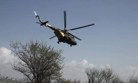 Απίστευτη πρόκληση: Σκιοπιανά ελικόπτερα πέταξαν πάνω από την Αριδαία