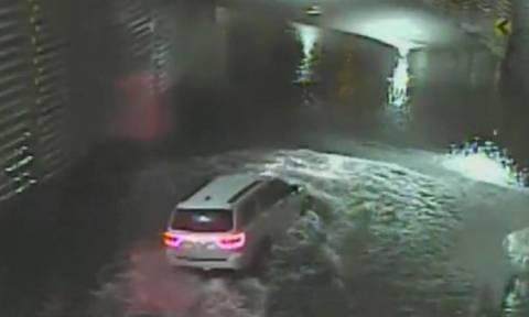 Βίντεο σοκ: 25χρονη πνίγηκε μέσα στο αυτοκίνητο της