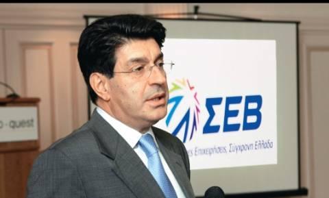 Πρόεδρος ΣΕΒ: Λάθος δρόμος για την οικονομία η αύξηση του ΦΠΑ