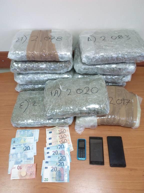 Εξαρθρώθηκε εγκληματική οργάνωση που εισήγαγε ναρκωτικά από την Αλβανία στην Ελλάδα