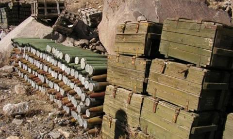 Συρία: Υπό τον έλεγχο ρωσικών δυνάμεων η μεγαλύτερη αποθήκη πυρομαχικών του Ισλαμικού Κράτος