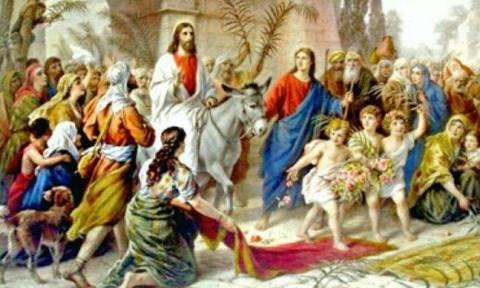 Κυριακή των Βαΐων: Εθιμα και παραδόσεις