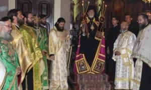 Ο Εσπερινός της Κυριακής των Βαϊων στην Κέρκυρα