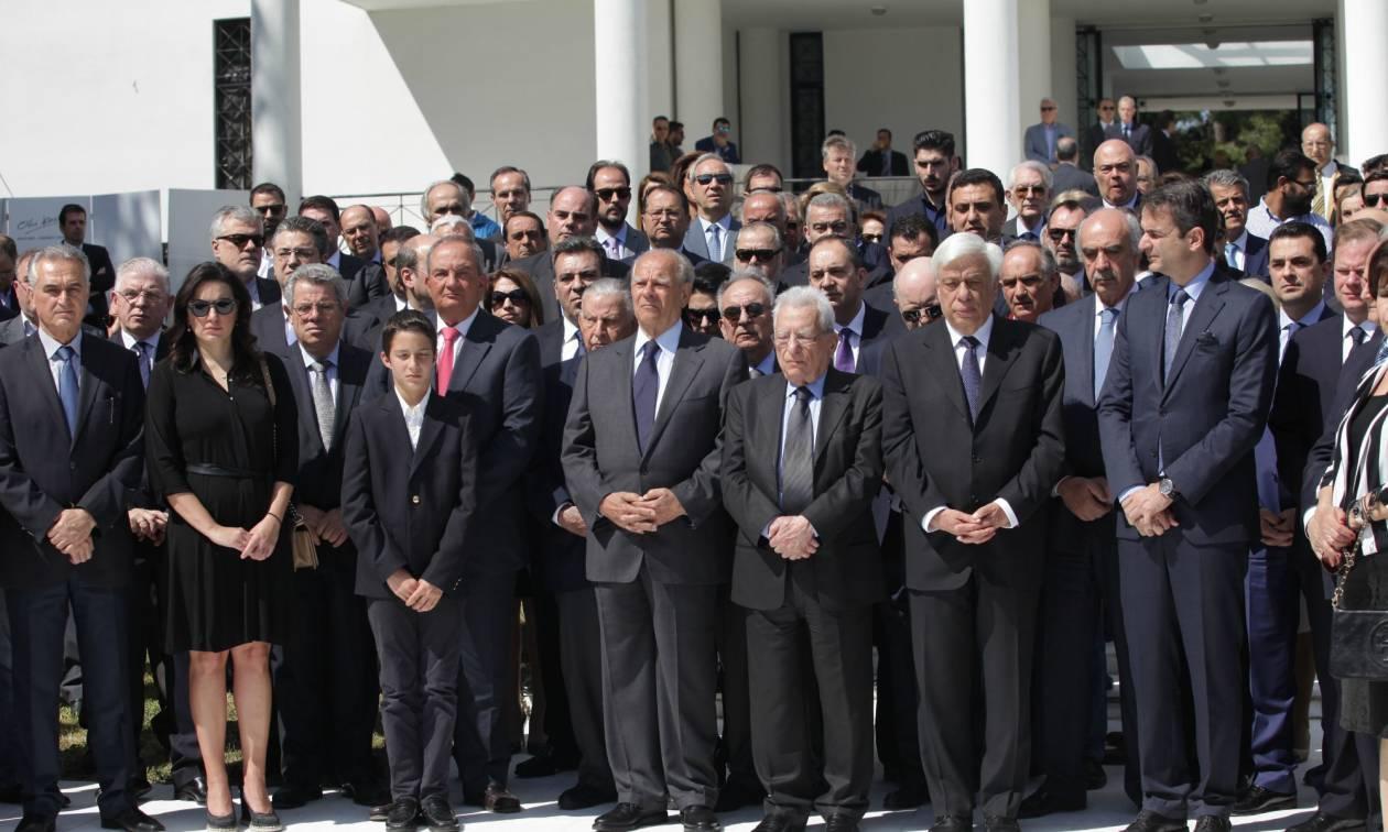 Μνημόσυνο για τα 18 χρόνια από το θάνατο του Κωνσταντίνου Καραμανλή (pics)