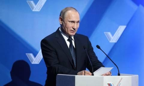 """Путин предложил в конце 2016 года провести """"Общероссийский форум действий"""" ОНФ"""
