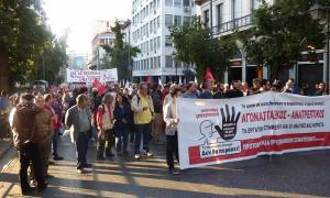 Συλλαλητήριο της ΑΔΕΔΥ στο κέντρο της Αθήνας κατά ασφαλιστικού και φορολογικού (vid)
