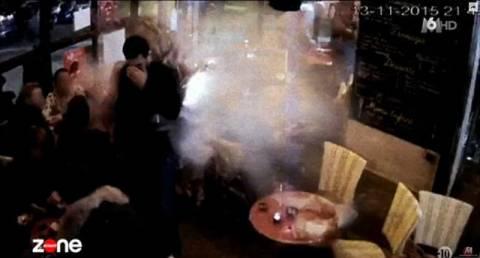 Στη δημοσιότητα βίντεο από τη στιγμή που τζιχαντιστής ανατινάζεται μέσα σε εστιατόριο στο Παρίσι