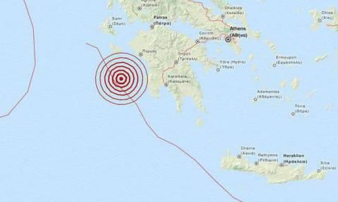 На Пелопоннесе произошло землетрясение магнитудой 4 балла