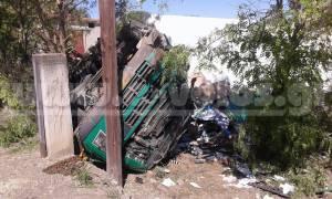 Βόλος: Θανατηφόρο τροχαίο με φορτηγό