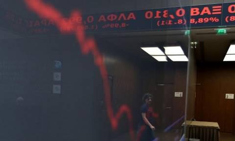 Xρηματιστήριο: Η εμπλοκή των διαπραγματεύσεων βυθίζει τον Γενικό Δείκτη