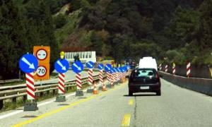 Κλειστή η Εθνική Οδός Αθηνών - Πατρών λόγω καθίζησης του οδοστρώματος