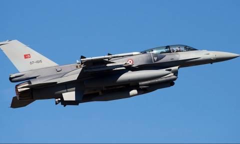 Νέες παραβιάσεις από τουρκικά F-16 στο Αιγαίο