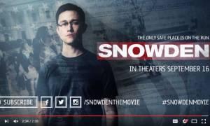 Χαμός στο διαδίκτυο από το τρέιλερ της ταινίας Σνόουντεν του Όλιβερ Στόουν (Vid)