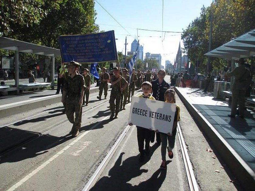 Οι Ευζώνες στην φετινή επέτειο της Anzac Day στην Αυστραλία (pics)