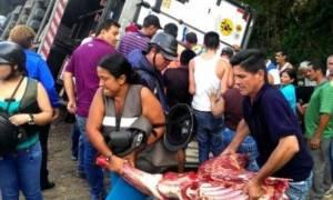 Σκηνές χάους στη Βενεζουέλα: Λεηλασίες σε σπίτια και σούπερ μάρκετ (video)