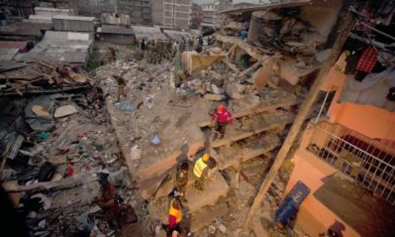 Κένυα: Αγωνιώδεις έρευνες για επιζώντες στα συντρίμμια εξαώροφου κτηρίου που κατέρρευσε- 7 οι νεκροί