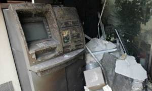 Οινόφυτα: «Βομβιστές» ανατίναξαν τα ξημερώματα του Μ. Σαββάτου ΑΤΜ