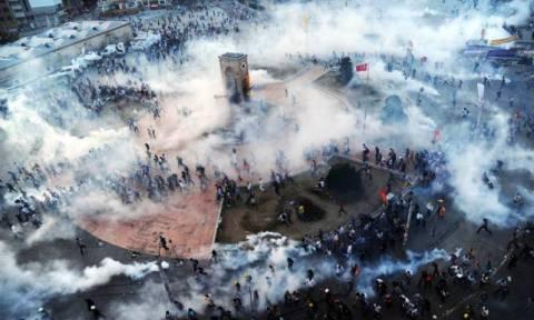 Πολεμικό κλίμα με 25.000 αστυνομικούς στους δρόμους της Κωνσταντινούπολης για την Πρωτομαγιά (Vid)