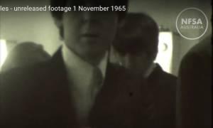 Εξαιρετικά σπάνιο βίντεο των Beatles βλέπει για πρώτη φορά το φως της δημοσιότητας