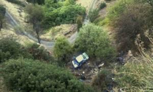 Τραγωδία στο Ρέθυμνο: Το αυτοκίνητο βρέθηκε στον γκρεμό!