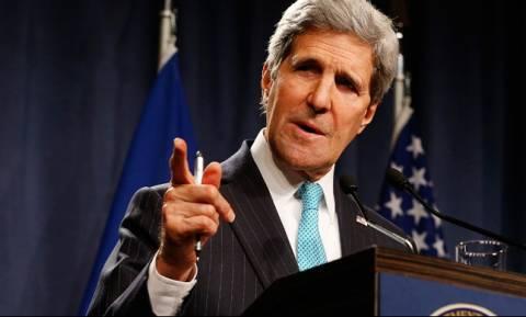 Αισιοδοξία Κέρι για πρόοδο στις ειρηνευτικές συνομιλίες της Συρίας