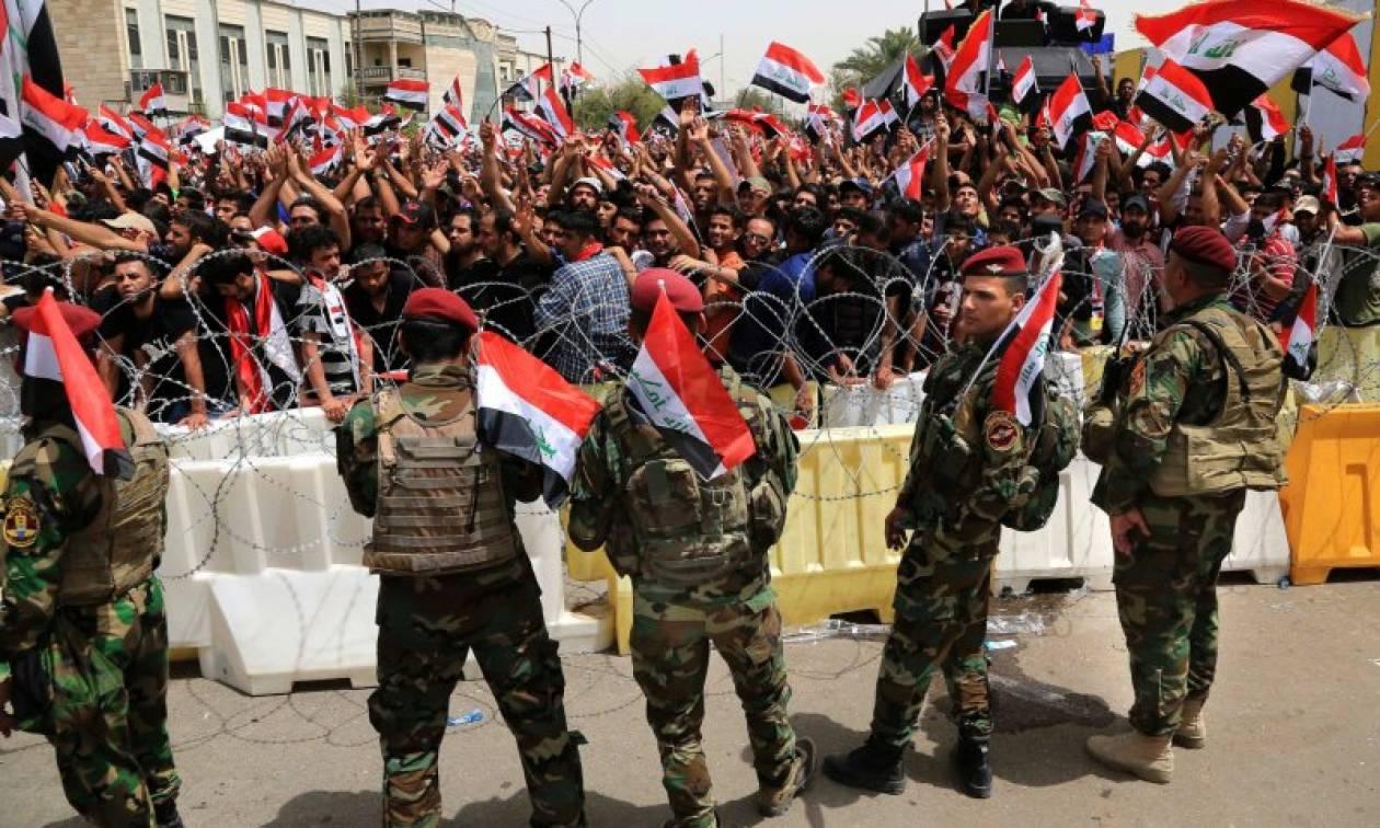 Ιράκ: Αποχώρησαν προσωρινά οι διαδηλωτές από την Πράσινη Ζώνη της Βαγδάτης (Vid)