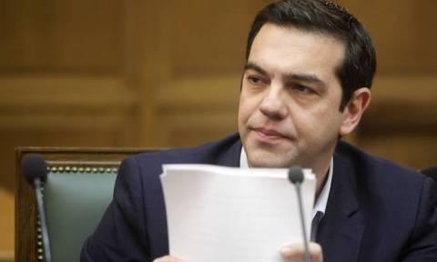 Σύσκεψη Τσίπρα με τους συνεργάτες του την Τρίτη ενόψει Eurogroup