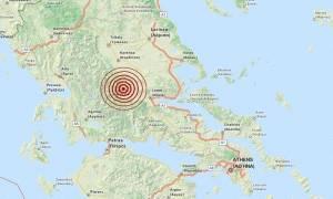 Σεισμός 4,3 Ρίχτερ κοντά στο Καρπενήσι