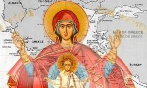 Συγκλονίζει το όραμα για την Ελλάδα: Η Παναγία γονατιστή μπροστά στον Χριστό