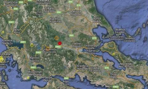 В Карпениси произошло землетрясение магнитудой 4,4 балла