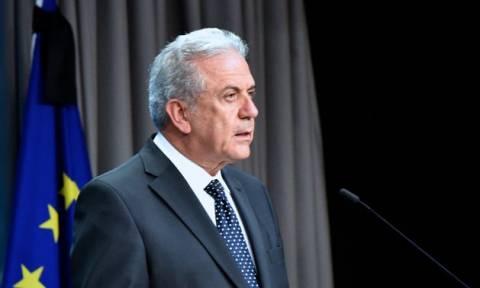 Αβραμόπουλος: Η Ελλάδα έχει σημειώσει τεράστια πρόοδο στο πρόβλημα του προσφυγικού