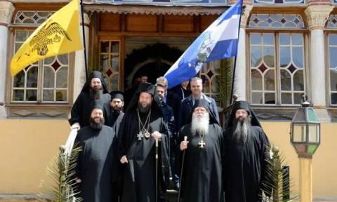 Ο Μητροπολίτης Νέας Ιωνίας στην Ιερά Μονή Ξενοφώντος Αγίου Όρους