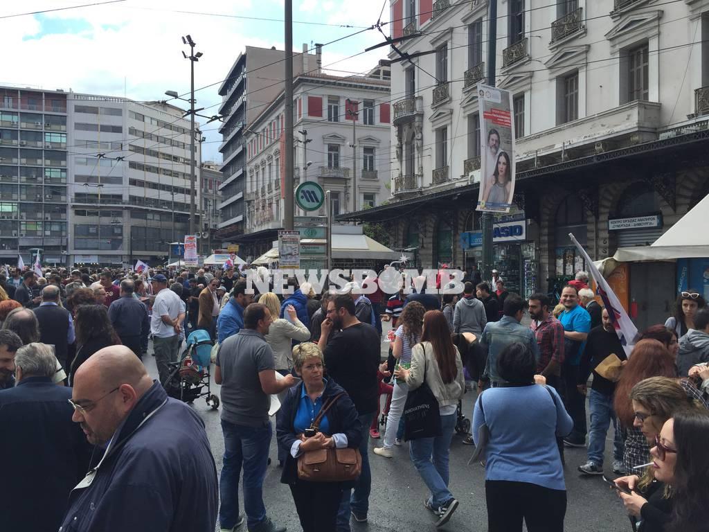 Χιλιάδες κόσμου φώναξαν «όχι» στο νέο ασφαλιστικό (photos, videos)