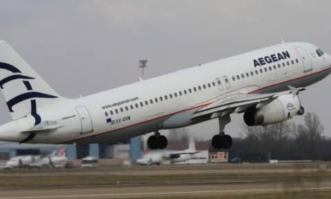 Έκτακτες πτήσεις εξήγγειλε η AEGEAN και η Olympic Air
