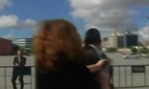 Turkish journalist Can Dundar shot at outside court