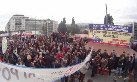 Το Ασφαλιστικό φέρνει τους αγρότες στην Αθήνα – Συλλαλητήριο το απόγευμα