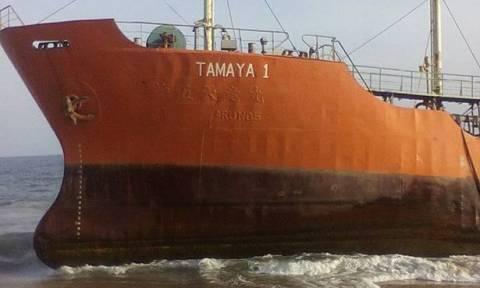 Μυστήριο με πλοίο-φάντασμα που ξεβράστηκε στις ακτές της Λιβερίας