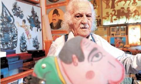 Σαν σήμερα το 2009 πέθανε ο καλλιτέχνης του θεάτρου σκιών, Ευγένιος Σπαθάρης