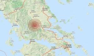 Διπλή σεισμική δόνηση στο Καρπενήσι (pic)