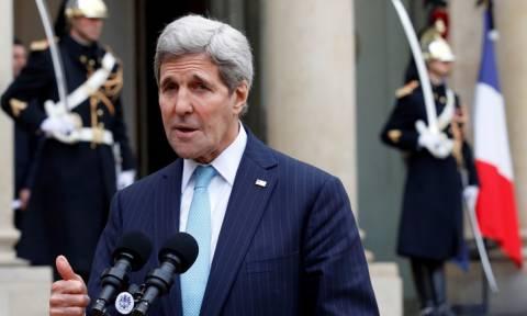 Γαλλία: Στο Παρίσι ο Τζον Κέρι για συνομιλίες σχετικά με τη Συρία και την Ουκρανία (Vid)