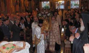 Μητροπολίτης Αιτωλίας Κοσμάς: Ο Άγιος Χριστοφόρος απαντά σε κάθε αίτημά μας
