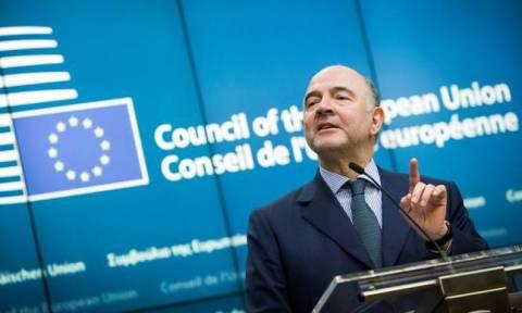 Μοσκοβισί: Ο «κόφτης» ήταν προϋπόθεση για να κλείσει η συμφωνία