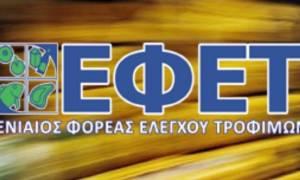 Ανάκληση προϊόντος κρέατος με σαλμονέλα από τον ΕΦΕΤ